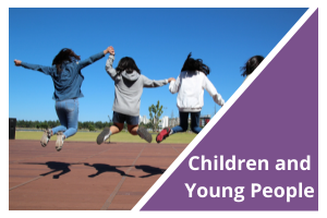 Children and Young People Button